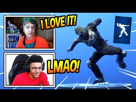 "NINJA & MYTH REACT TO *NEW* ""CAPOEIRA"" EMOTE/DANCE! *RARE* Fortnite FUNNY & SAVAGE Moments"