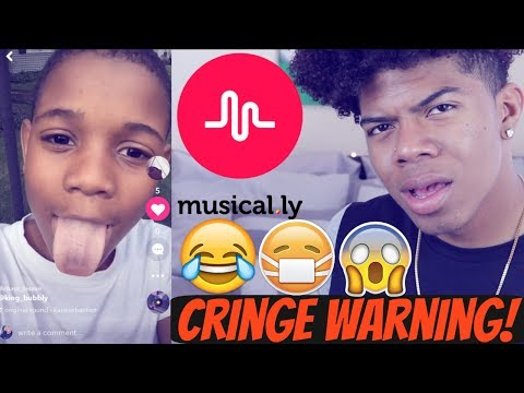 REACTING TO CRAZY FANS MUSICALLY'S!!(CRINGE WARNING!)