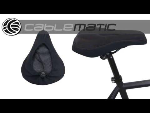 cruiser Bikes Funda de gel para asiento de bicicleta de monta/ña Soft estacionaria apta para spin c/ómoda funda de asiento para mujer y hombres ShawFly Indoor Cycling