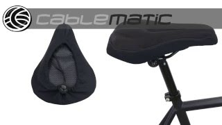 asiento c/ómodo para hombres NIVNI Funda de gel para sill/ín de bicicleta ni/ños y mujeres