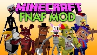 MINECRAFT MOD FIVE NIGHTS AT FREDDY'S 3 | El mejor mod de Five Nights At Freddy's | MINECRAFT 1.7.10