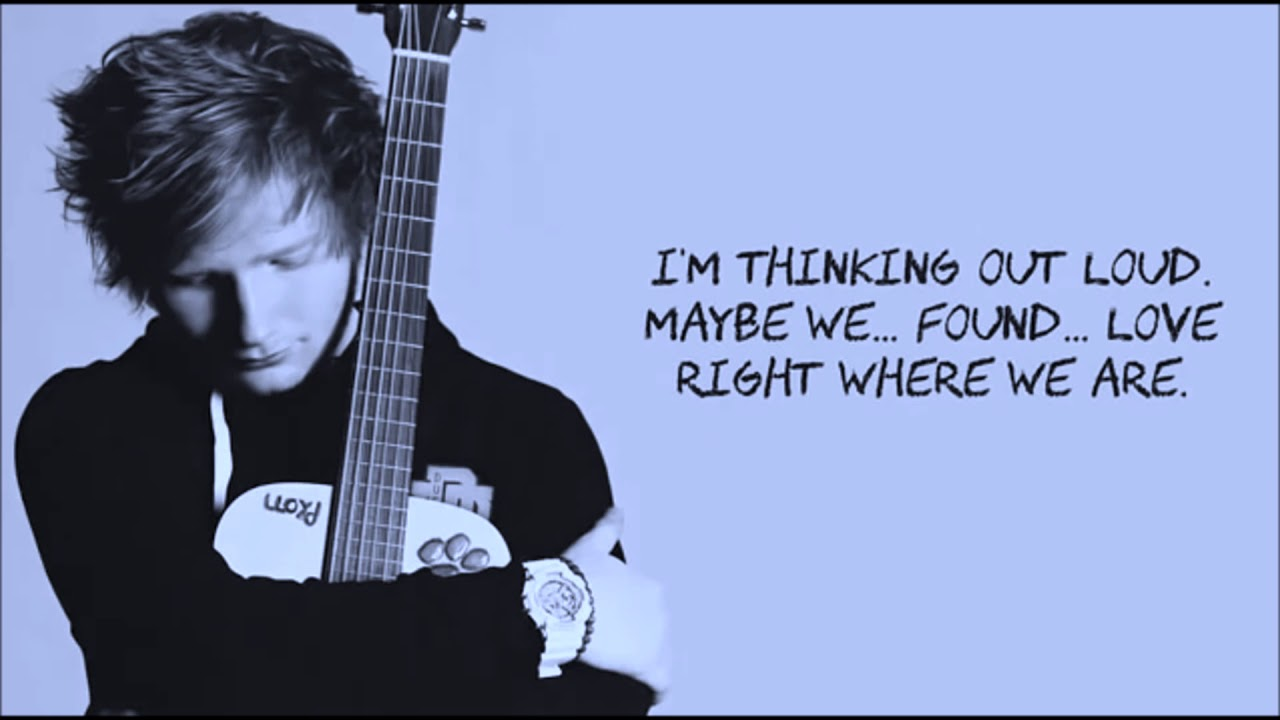 Ed Sheeran - Thinking Out Loud download - RealMP3