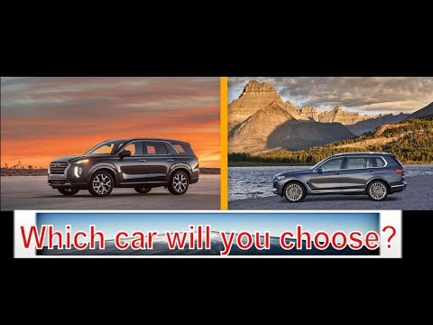 2020 hyundai palisade vs bmw x7 | Which car will you choose?