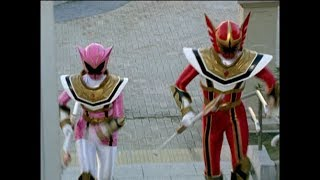 "Power Rangers Mystic Force - Power Rangers vs Hekatoid   Episode 26 ""Hard Heads"""