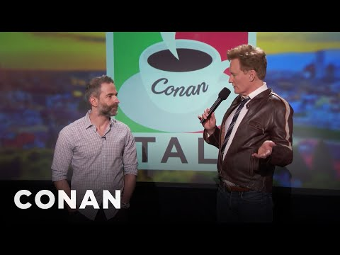 Q&A: How Jordan & Conan Discovered Their Unique Chemistry   CONAN on TBS