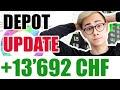 100'000 CHF In 2020 4/12 - Dividenden Depotupdate April 💰📈 |Sparkojote