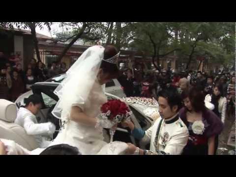 Đám cưới siêu xe tại hà nội