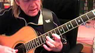 Going up the country Canned Heat Fingerstyle Guitar Lesson by Siggi Mertens