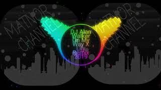 Dj One My way & lily _Alan Walker Remix 2019 Full Bass