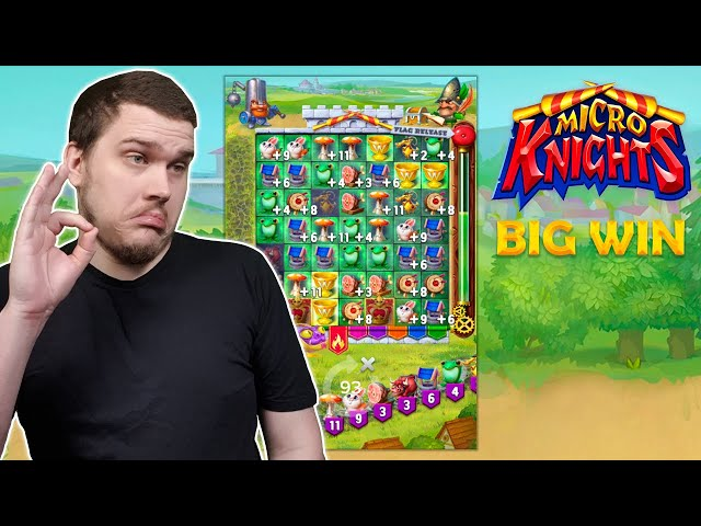 BIG WIN ON MICRO KNIGHTS (ELK Studios)
