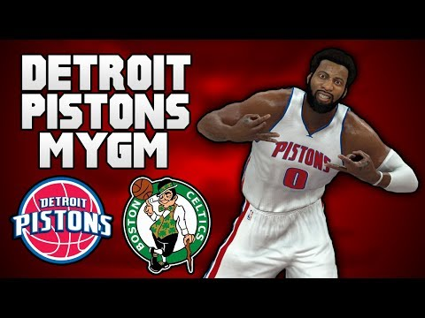 NBA 2K17 MyGM: Pistons | ECSF Game 5