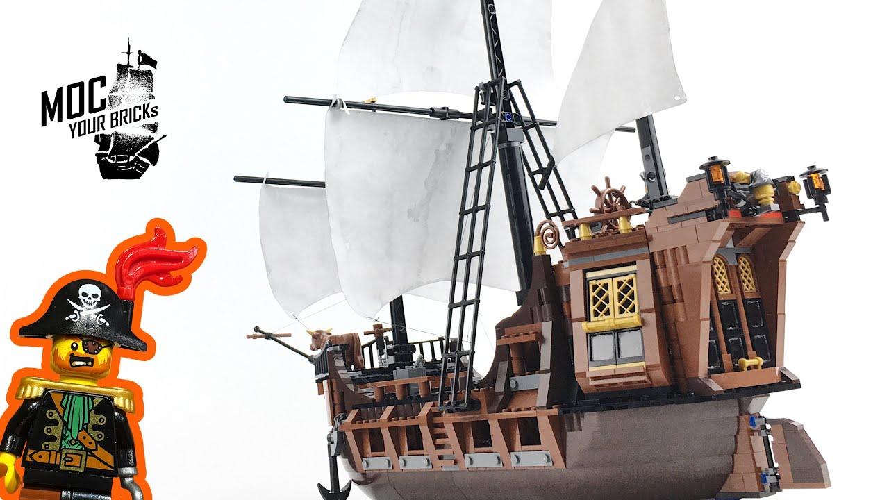 """Lego 70810 Upgrade !!! """" La Vaca Marina """"."""