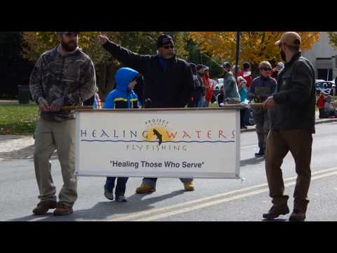 Roanoke, VA Veterans Day Parade, 2017 with Project Healing Waters