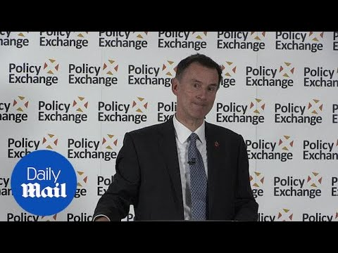 Jeremy Hunt: Brexit deal entirely 'possible' by November deadline