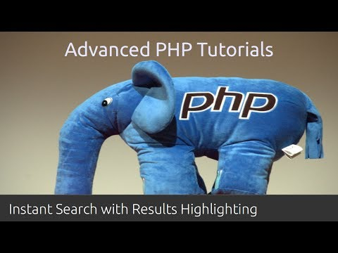 Predictive Search Autocomplete - PHP Tutorial