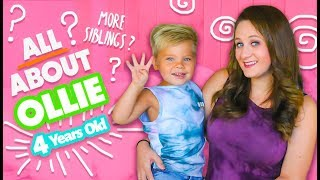 ALL ABOUT OLLIE 4 YEARS OLD! - DOES HE WANT MORE SIBLINGS!?