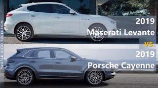2019 Maserati Levante vs 2019 Porsche Cayenne (technical comparison)