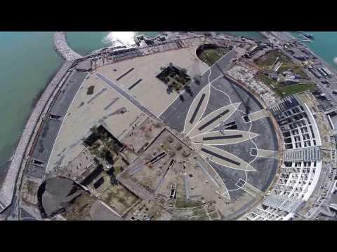 Salerno Italy drone view GoPro Hero 4