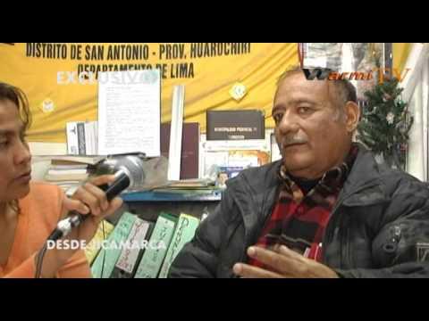 WARMI TV entrevisto a Juan Santivañez
