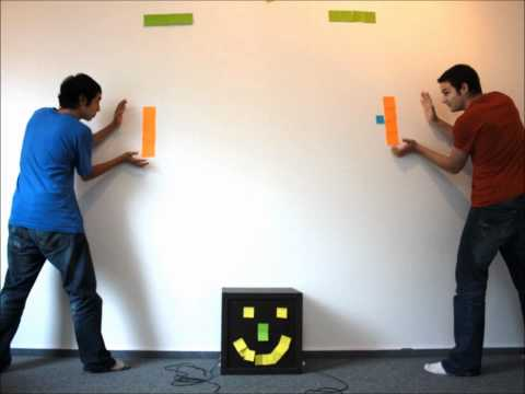 Stop Motion Post-it Action Game
