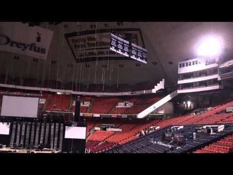 Entering Pittsburgh (Mellon Arena)
