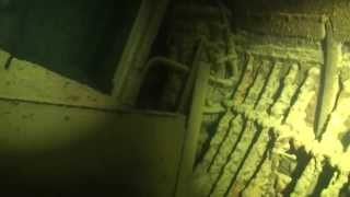 Penetration in the Russian submarine wreck