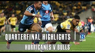 QUARTERFINAL HIGHLIGHTS: Hurricanes v Bulls – 2019