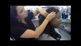Bella Beauty College: How To Updo with Curls Thumbnail