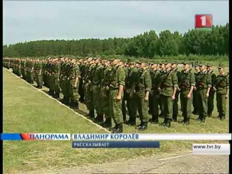 В Беларуси прозвучали слова воинской присяги