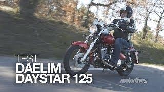 TEST | DAELIM DAYSTAR 125, la petite star du custom !