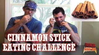 Cinnamon Stick Eating Challenge W/ Damon Devours (ep 27)