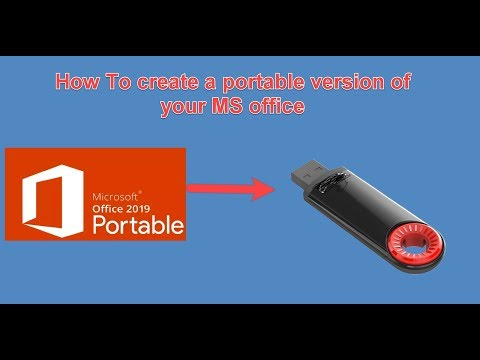 How To Create A Portable USB Version Of Microsoft Office