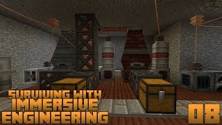 Surviving With Immersive Engineering 1.12 :: E08 - Improved Blast Furnace & Advanced Coke Oven