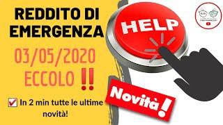 REDDITO DI EMERGENZA ECCO COME SARÀ! fino a 800€ per chi è in DIFFICOLTA' [ULTIMISSIME MAGGIO 2020]