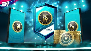 2 FOR 1 100K AND 125K LIGHTNING ROUNDS!   FIFA 19 ULTIMATE TEAM PACK OPENING