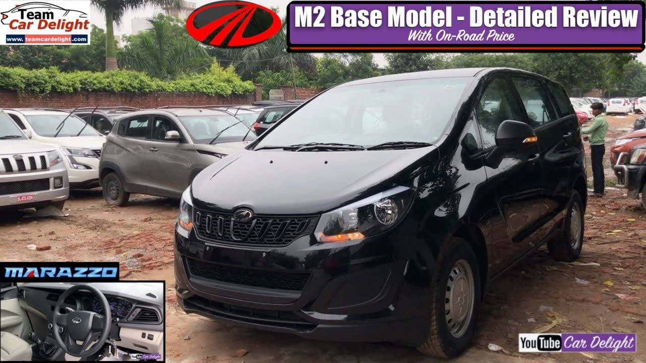 Mahindra Marazzo Base Model M2 Detailed Review with On Road Price | Marazzo Black Colour