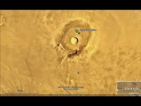 Marte, Monte Tharsis