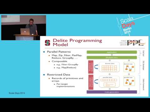 Solving Data Analytics Problems with Delite