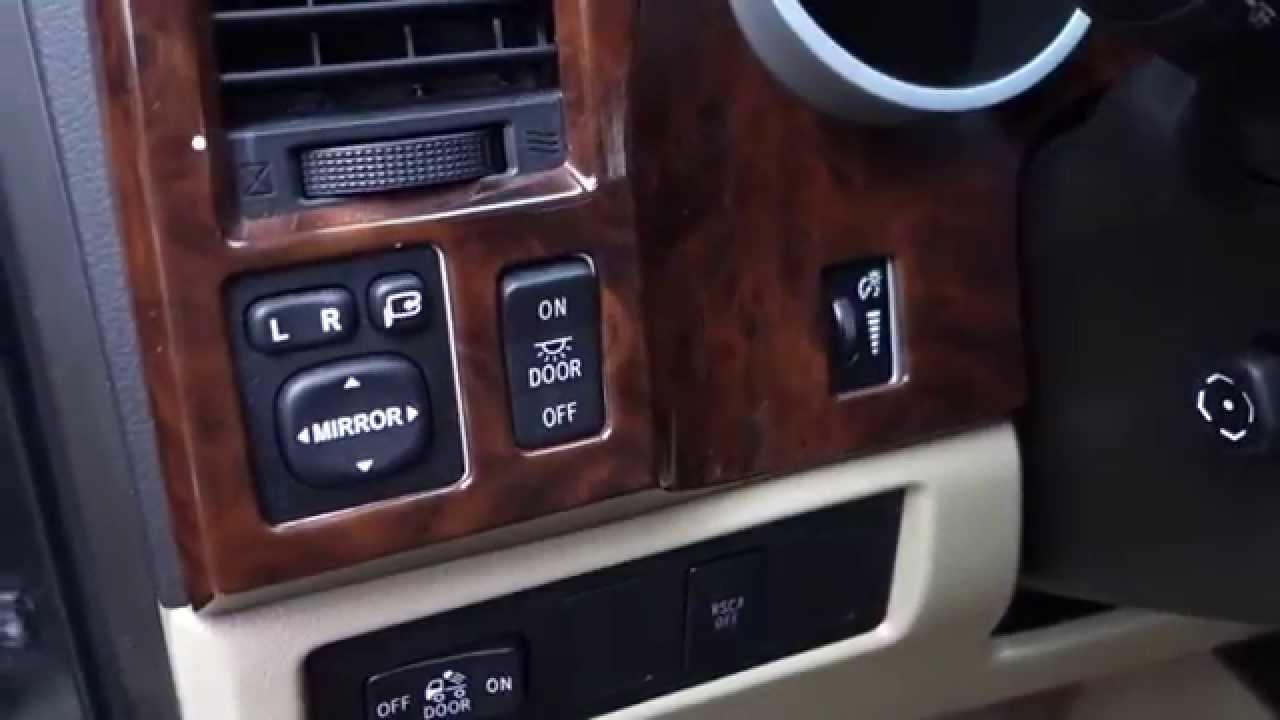 2008 Toyota Tundra Limited 4x4 Interior Youtube