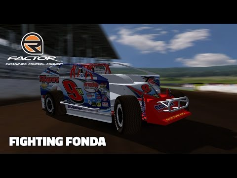 rFactor: Fighting Fonda (Big Block Modifieds @ Fonda)