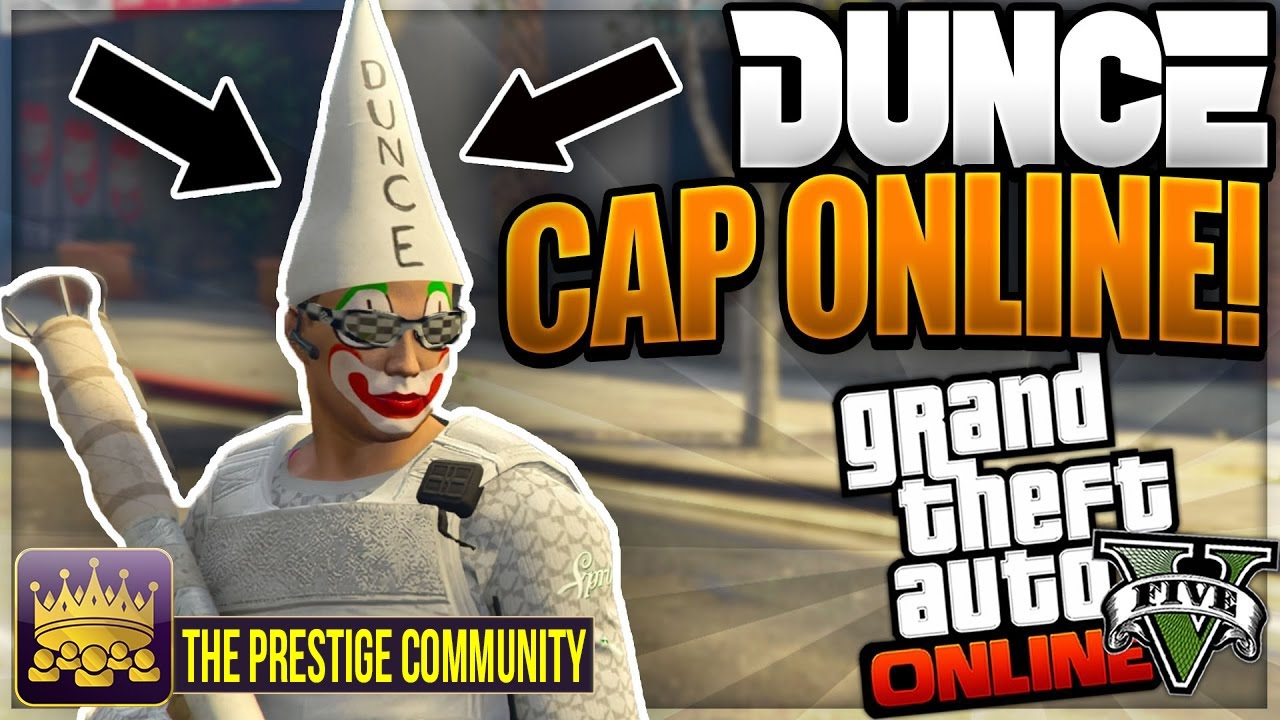 Gta 5 Online New Dunce Cap Outfit Glitch 1 38 How