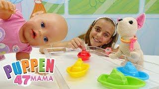 Puppen Mama. Farben Lernen mit Ayça. Spielzeugvideo für Kinder