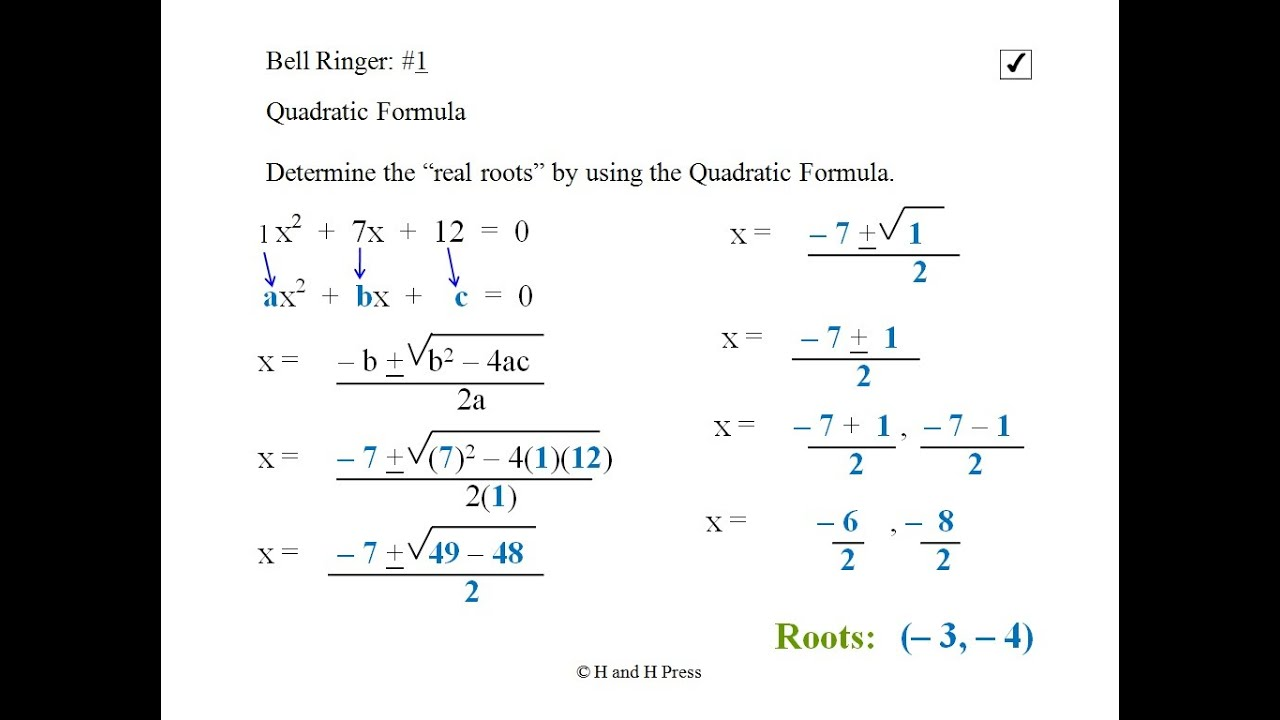 maxresdefault Quadratic Equation Examples on algebraic equation, gcf no solution equals zero, linear function, cube root, quadratic polynomial, equation solving, equation of motion, real roots, constant term, simultaneous equations, system of linear equations, quartic function, zero-product property, degree of a polynomial, two solution, linear equation, pythagorean theorem, law enforcement, elementary algebra, quadratic function, cubic function,
