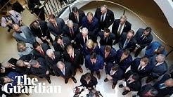 Republicans disrupt closed-door Trump impeachment inquiry hearing
