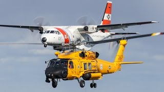 AMAZING AIR-TO-AIR FOOTAGE! USCG Air Station Cape Cod (Extended Cut)