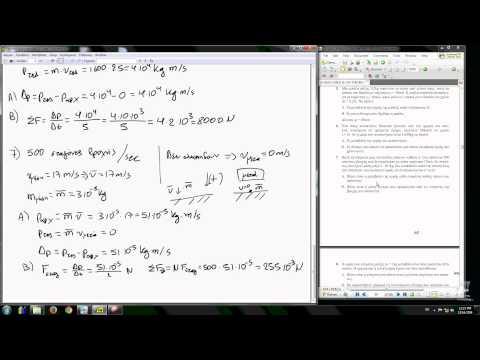 Φυσική Θετικών Σπουδών Β Λυκείου, Ορμή, Λύσεις των ασκήσεων 1-7