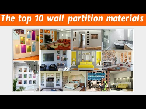 the-top-10-wall-partition-materials-|-building-construction-|