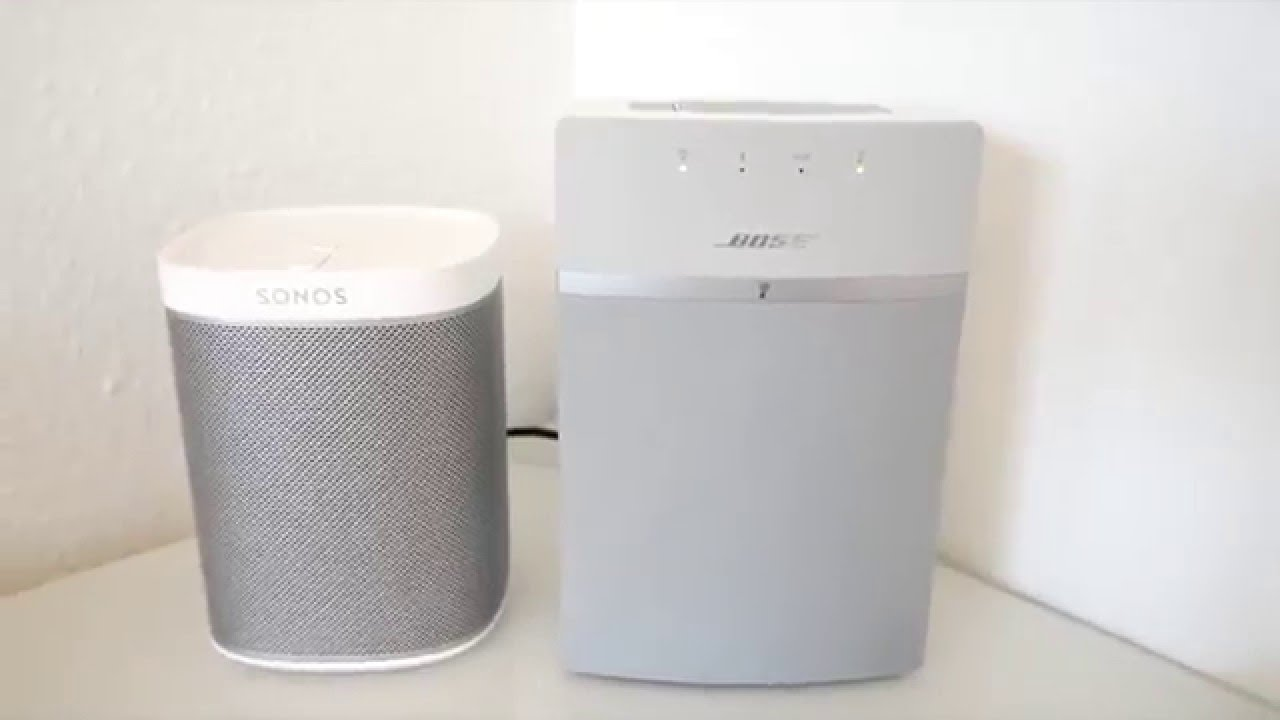 bose soundtouch 10. bose soundtouch 10 vs. sonos play 1 deutsch r