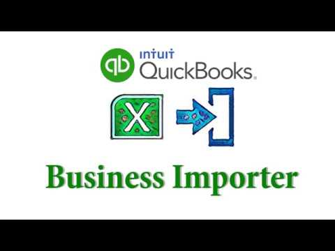 Import Invoices Into QuickBooks Online Using Business Importer YouTube - Import invoices into quickbooks online