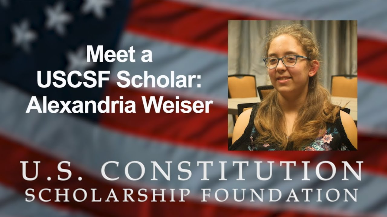 Meet A USCSF Scholar: Alexandria Weiser